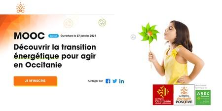 MOOC : Découvrir la transition énergétique pour agir en Occitanie