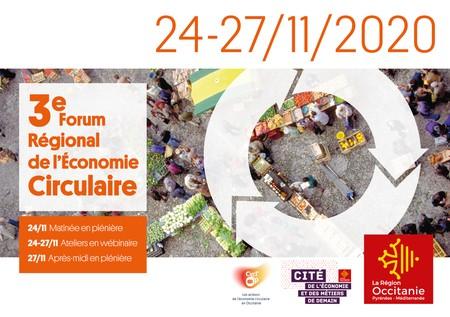 Inscrivez-vous au 3ème Forum régional de l'Economie Circulaire en Occitanie - Tout à distance