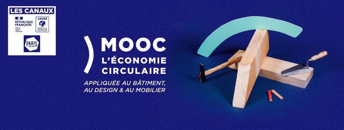 """Les Canaux lancent la troisième session du MOOC """"L'économie circulaire appliquée au bâtiment au design et au mobilier"""""""