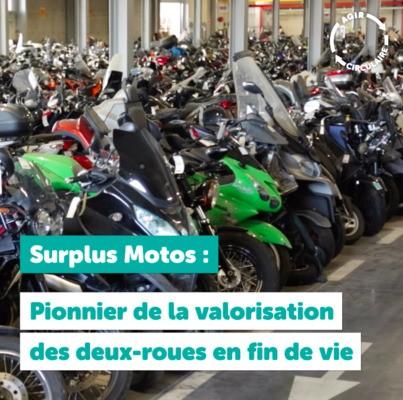 2ème épisode de la série #Agircirculaire - Surplus Motos pionnier de la valorisation des deux-roues en fin de vie !