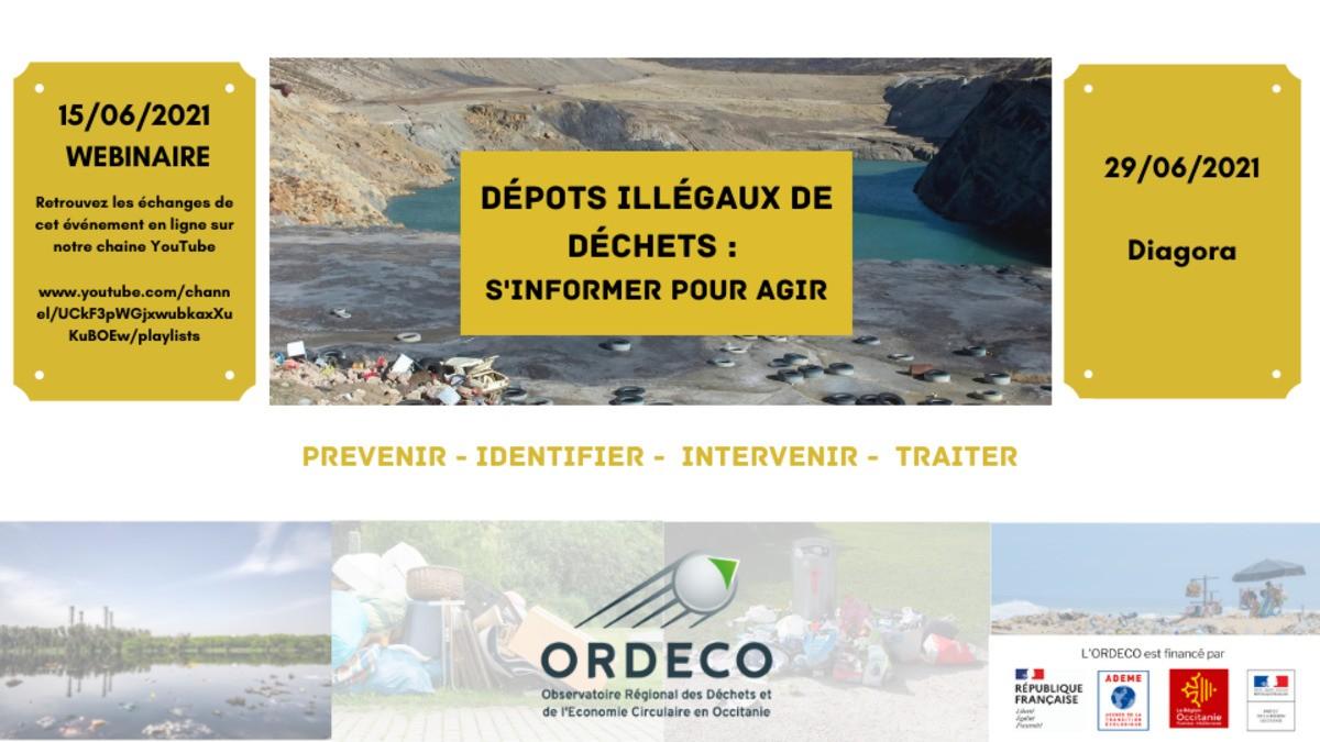 Dépots illégaux de déchets : s'informer pour agir