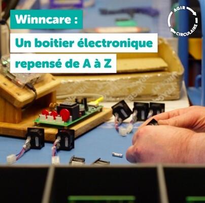 Un boîtier électronique Winncare repensé de A à Z