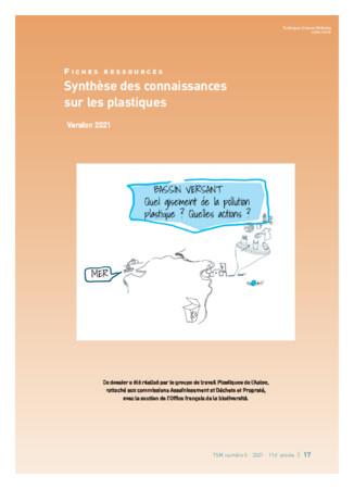 ASTEE - Synthèse des connaissances sur les plastiques