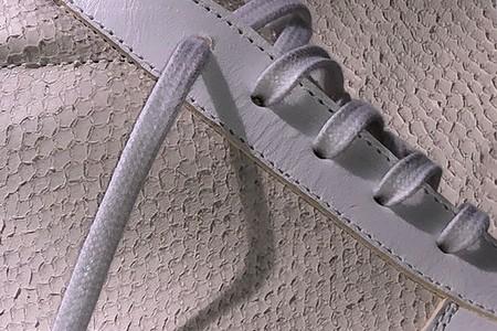 La peau de thon comme matière première pour des sneakers en cuir