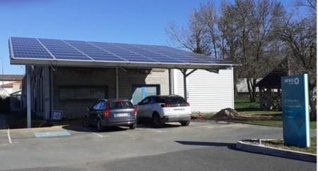 Réalisation d'un bâtiment à faible consommation d'énergie par le groupe SIERA