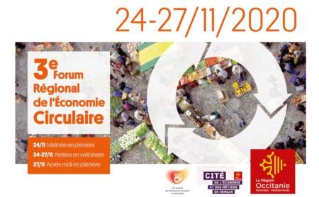 Retrouvez le 3ème forum régional Economie Circulaire en Occitanie sur Cycl'Op