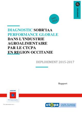 Diagnostic SOBR'IAA - Performance globale dans l'industrie agroalimentaire par le CTCPA en région Occitanie