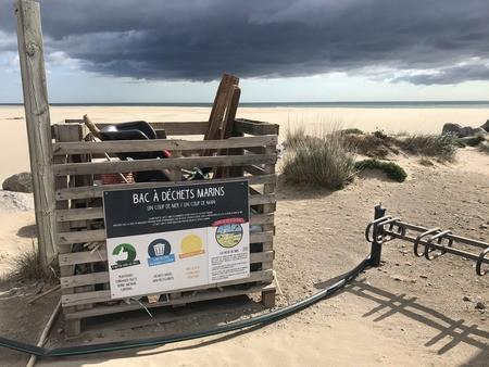 Des bacs de tempête sur le littoral du Parc naturel marin du golfe du Lion : vers une stratégie collaborative