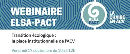 Webinaire Chaire ELSA-PACT 17 septembre