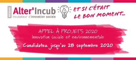 AAP Alter'Incub: Accompagner les porteurs de projets sociaux et  environnementaux