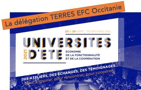 Université d'été de d'EFC - une délégation Occitanie en voyage pour Tourcouing