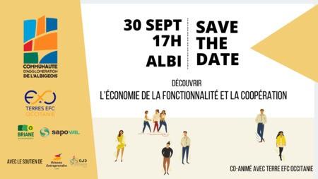 Découvrir l'Economie de la Fonctionnalité et de la Coopération - Albi InnoProd, le 30 septembre à 17h