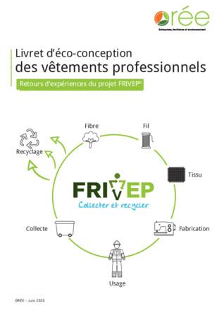 Livret d'éco-conception des vêtements professionnels - Retours d'expériences du projet FRIVEP©