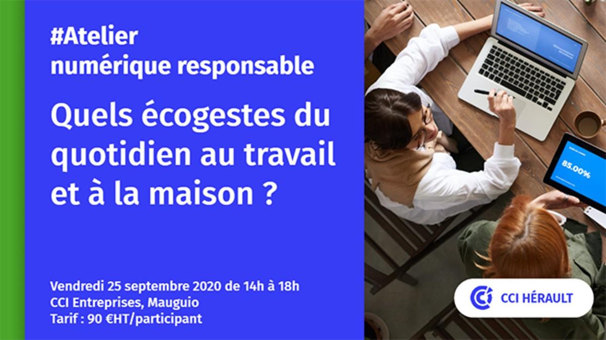 Atelier ECON[U]M : Quels éco-gestes pour un numérique responsable ?